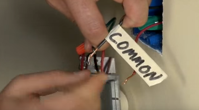 common wire wiring three way dimmer
