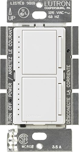Double dimmer switch review Lutron Maestro MA-L3L3-WH ...