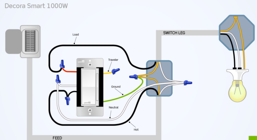Cooper 3 Way Dimmer Switch Wiring Diagram - Collection