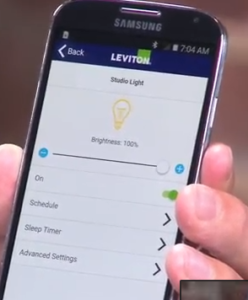 leviton decora bluetooth settings