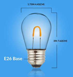 1 watt led light bulb