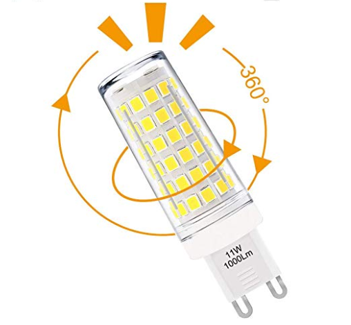 What is the brightest G9 LED bulb