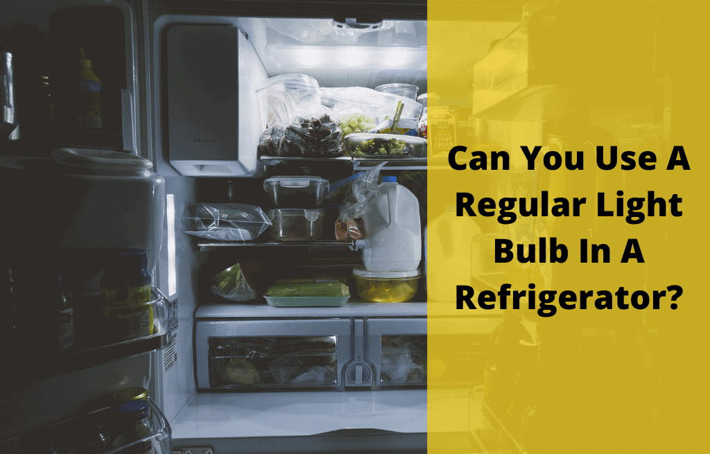 Can You Use A Regular Light Bulb In A Refrigerator