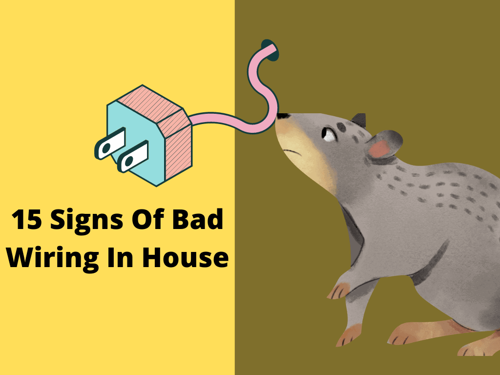 15 Signs Of Bad Wiring In House